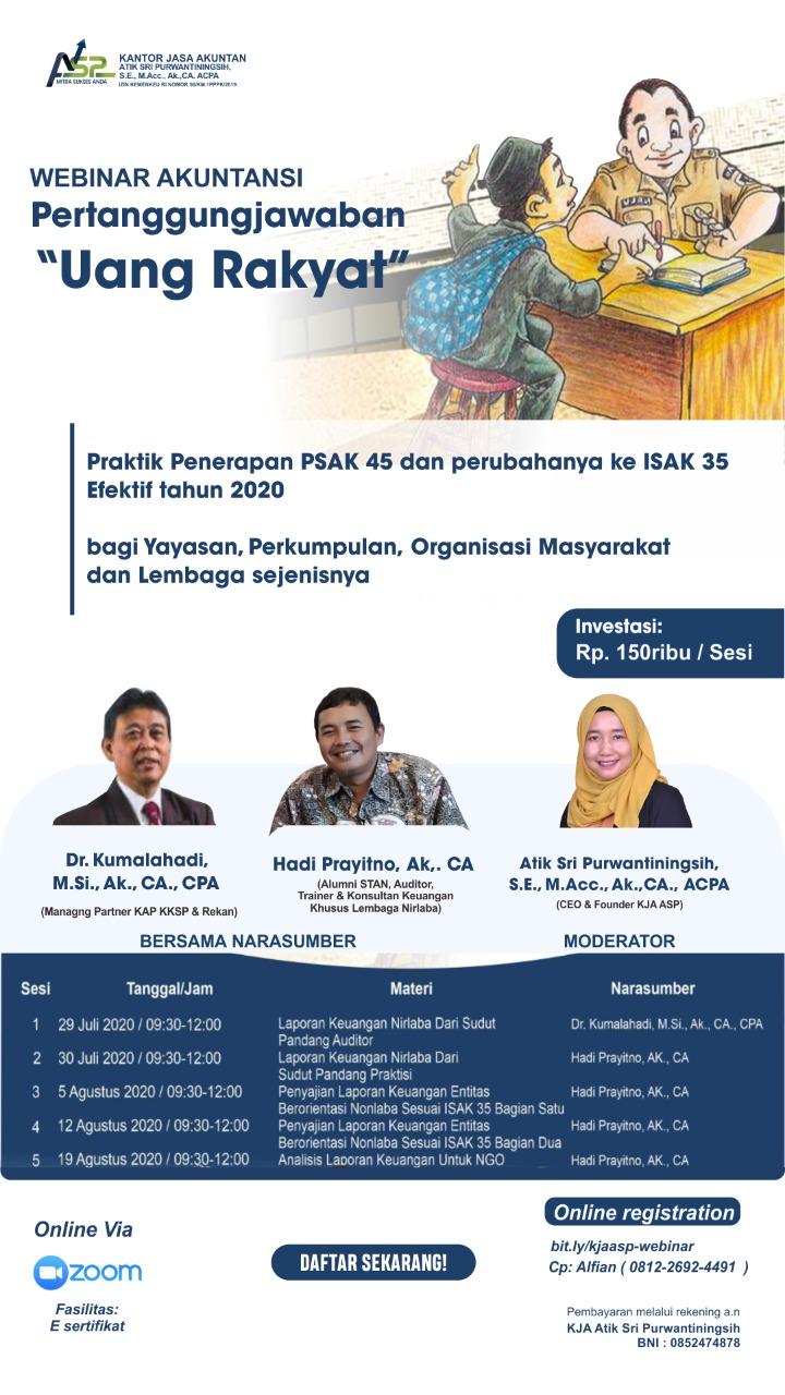 Poster Webinar Akuntansi KJA ASP