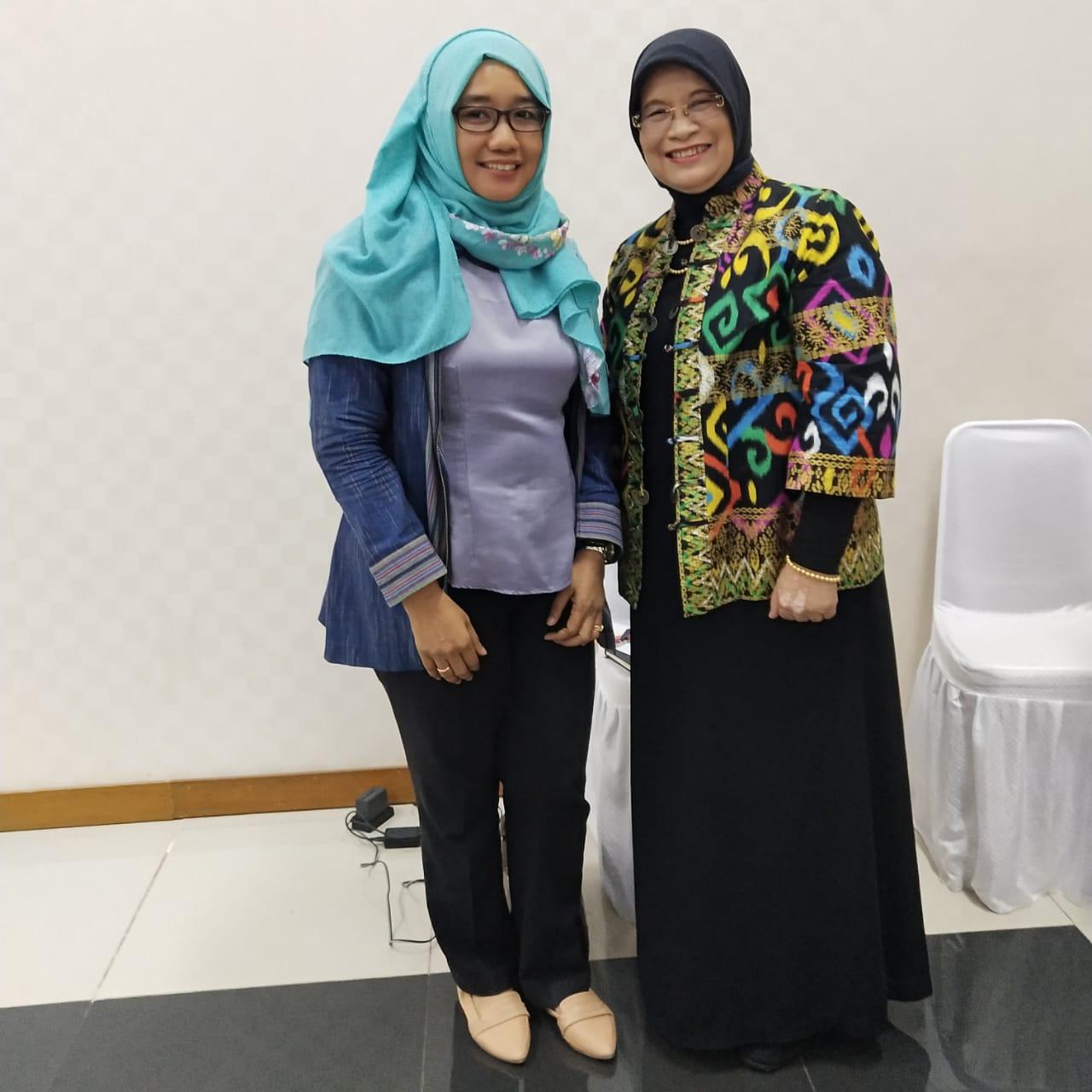 Bersama Ibu Dra. Tia Adityasih, SH., M.Ak., CPA., CA