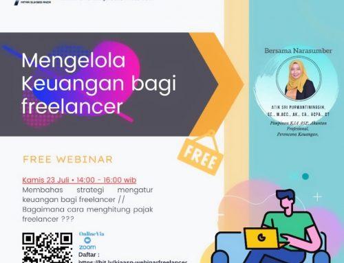 Webinar Mengelola Keuangan Bagi Freelancer