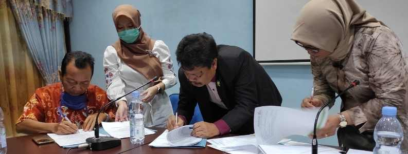 Penandatangan MOU Kerjasama KJA ASP dengan Yayasan Samudera Ilmu Cendekia