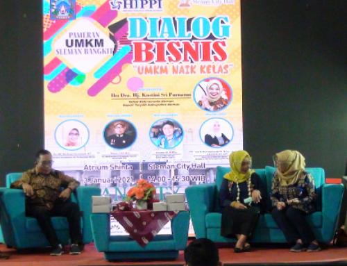 Dialog Bisnis UMKM Naik Kelas Berlangsung Sukses