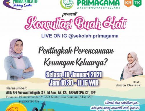 Pimpinan KJA ASP Menjadi Narasumber Talkshow yang Diselenggarakan Sekolah Primagama Yogyakarta
