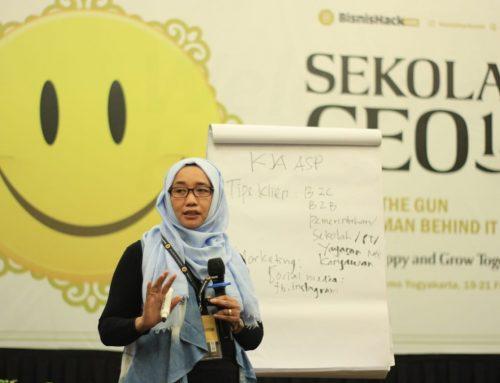 Presentasi Pada Acara Sekolah CEO 1.0