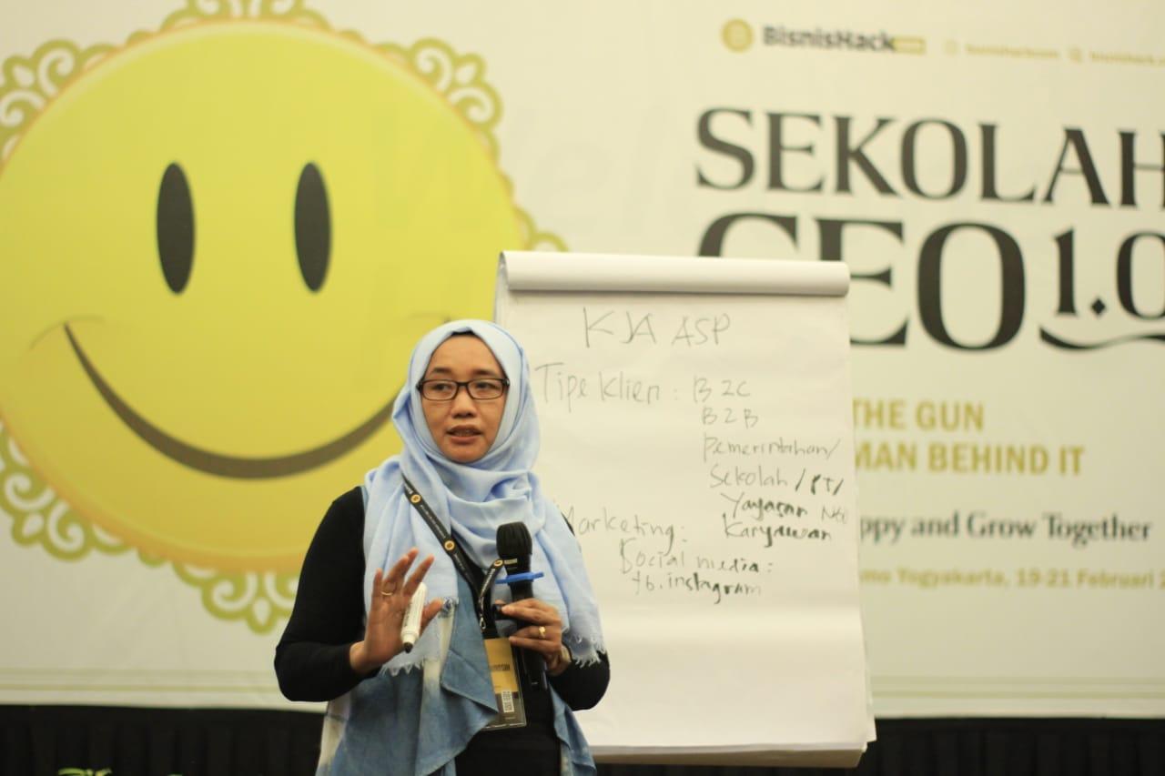 Presentasi Pada Acara Sekolah CEO 1.0 1
